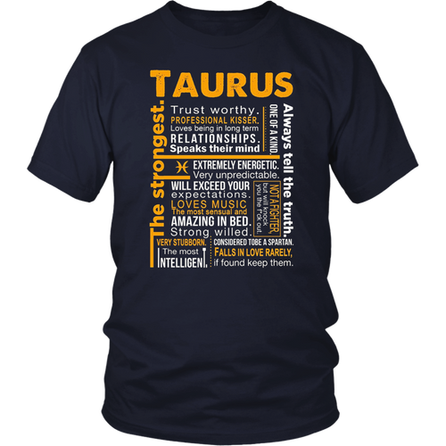 Taurus Awesome Zodiac Sign T-Shirt Taurus Facts
