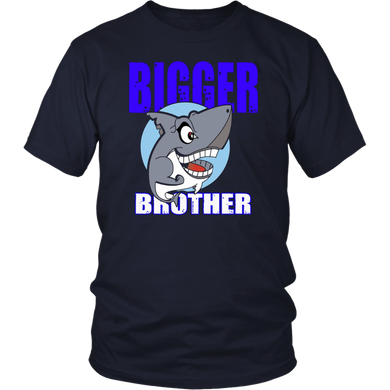 Bigger Brother Shirt - Brother Shark T-Shirt