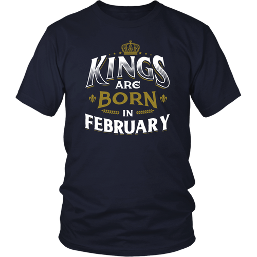 T-Shirt Workout Gym Fitness Queens Are Born In February