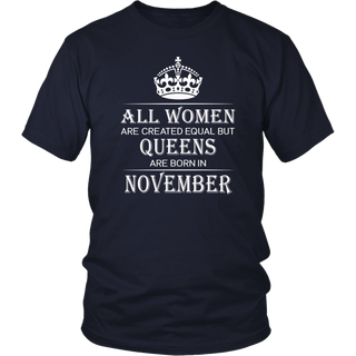 Birthday Women November 2018 T Shirt