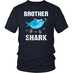 Brother Shark T-Shirt Family Matching Men Boys Jawsome Gifts Shirt