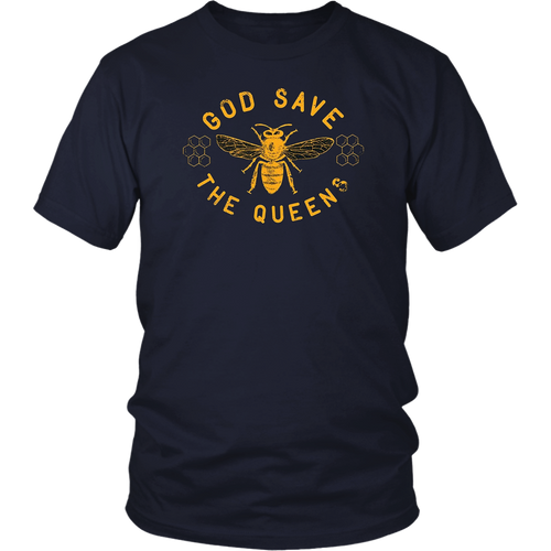 Bee Lovers TShirt God Save the Queen