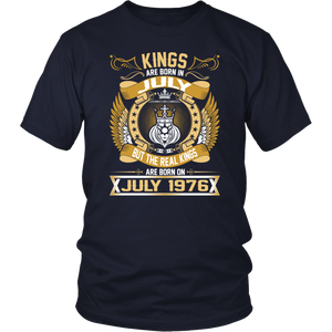 The Real Kings Are Born On July 1976 tshirt