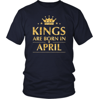 Kings Are Born In April Tshirt T Shirt T-Shirt Tee Shirt