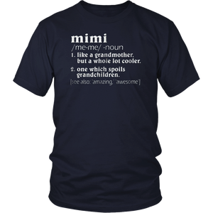 Vintage Definition Of Mimi T Shirt For MIMI