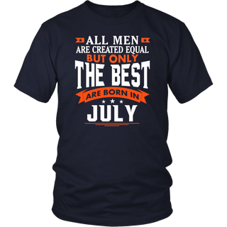 Born in July tshirt