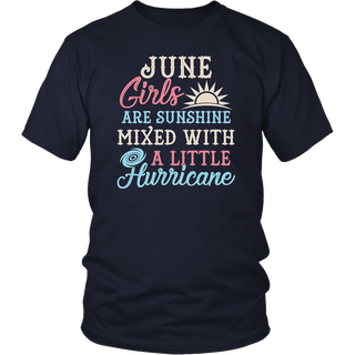 June Girls T-Shirt Funny June Facts Girl Sayings