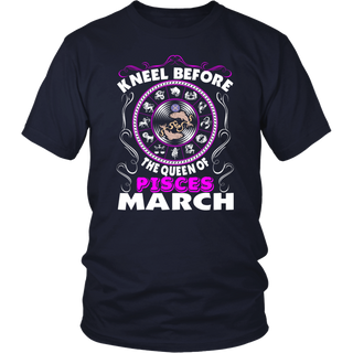 I'm A Pisces - Kneel Before March T-Shirt