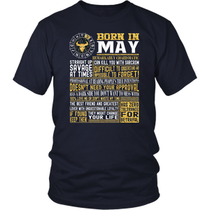 Best selling Born in May Facts Shirts for Mens, Womens, Yout