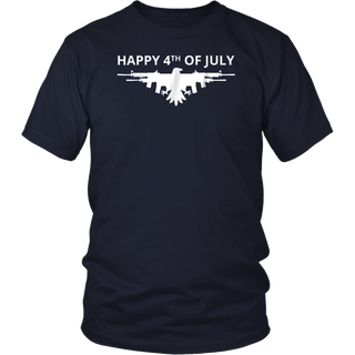 American Eagle Gun Wings 4th Of July T-Shirt
