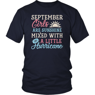 September Girls T Shirt Funny September Facts Girl Sayin