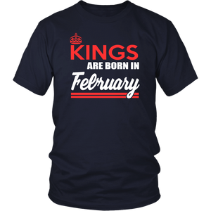 Queens Are Born In February Long Sleeve Tshirt
