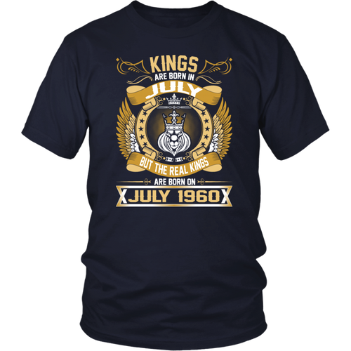 The Real Kings Are Born On July 1960 tshirt
