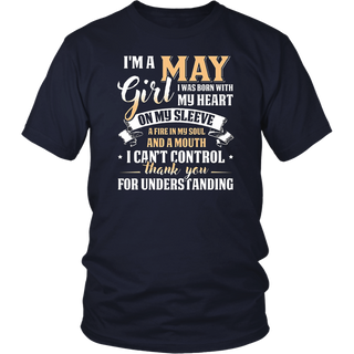 I'm A May Girl T-Shirt Special Gift For Birthday Shirt