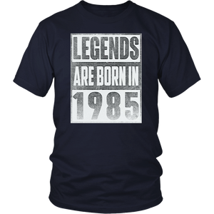 Legends Born In 1985 Straight Outta Gift For 33 Years Old T-Shirt