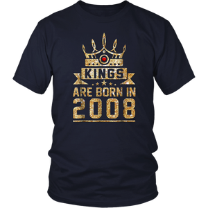 Kings born in 2008 10th Birthday Gift 10 years old awesome