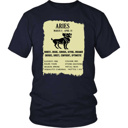 Aries March 21 - April 19 T-Shirt