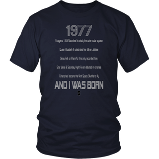 1977 Birthday Shirt - 40th Birthday T-Shirt