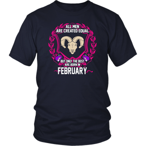 Funny Gamer Shirt The Best Gamers Are Born In February Gifts