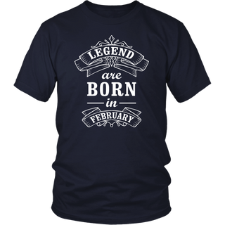 Bubble Hockey Legends Are Born In February T-Shirt