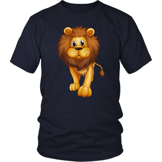 Heart Of A Lion Lion August T-Shirt