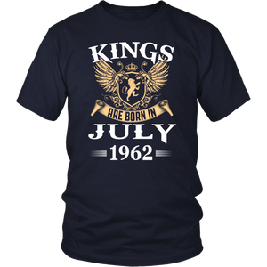 Kings Legends Are Born In July 1962 tshirt