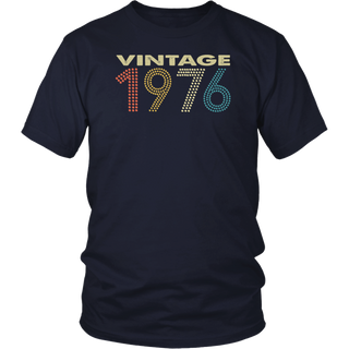 Vintage 1976 Shirt Funny 41 Years Old 41th T-Shirt
