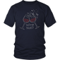 Wine Not? Fun Women T-Shirt With Rhinestones For Wine Lovers
