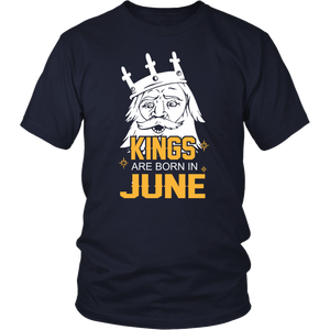 Birthday Gift T Shirt Kings Are Born In June Shirt