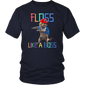 Funny T-Shirt Flossing School Cat Floss Like A Boss Shirt