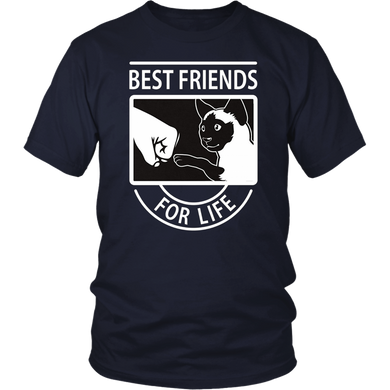 Siamese Cat - Best Friends For Life T-Shirt