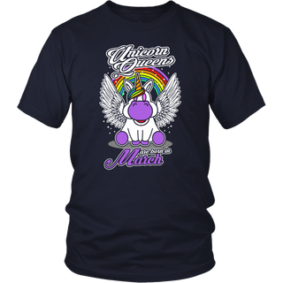 Birthday Gift Idea - Unicorns Are Born In March T-Shirt