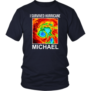 I Survived Hurricane Michael T Shirt