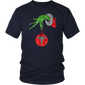 Grinch Hand holding Nurse ornament Christmas T-Shirt