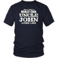 Uncle John Shirt What Really Cool Looks Like Niece Nephew T-Shirt