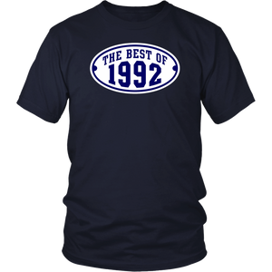 THE BEST OF 1992 2C Birthday T-Shirt Navy/White T-shirt