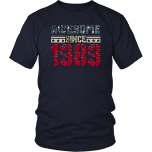 Awesome Since Legends Born In 1989 Birthday Gift 29 Years Old T-Shirt