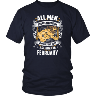 The Best Gamers are Born in February - Birthday TShirt