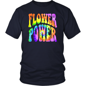 60s 70s Retro Hippie Batik Spiral - Flower Power 3 T-Shirt