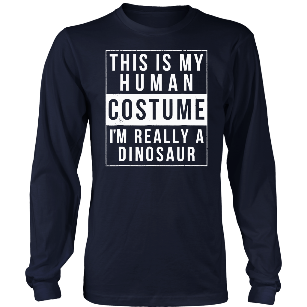 Dinosaur Halloween Costume Shirt Funny Easy for kids adults