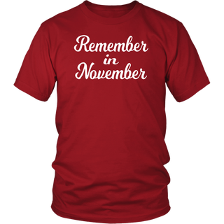 Remember in November Shirts for Election Day