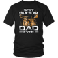 Best Buckin' Dad Ever Shirt Deer Hunting Bucking Father