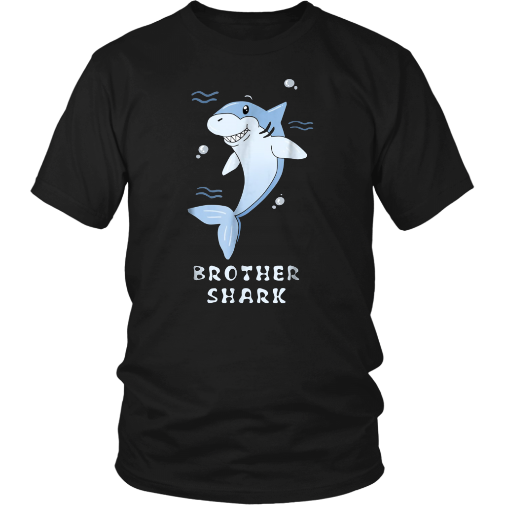 Brother Shark Funny Ocean Creature Family T-Shirt