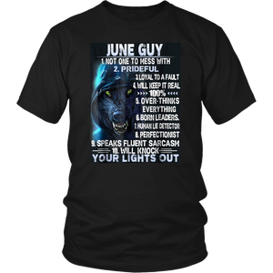 June Guy Your Lights Out T-shirt