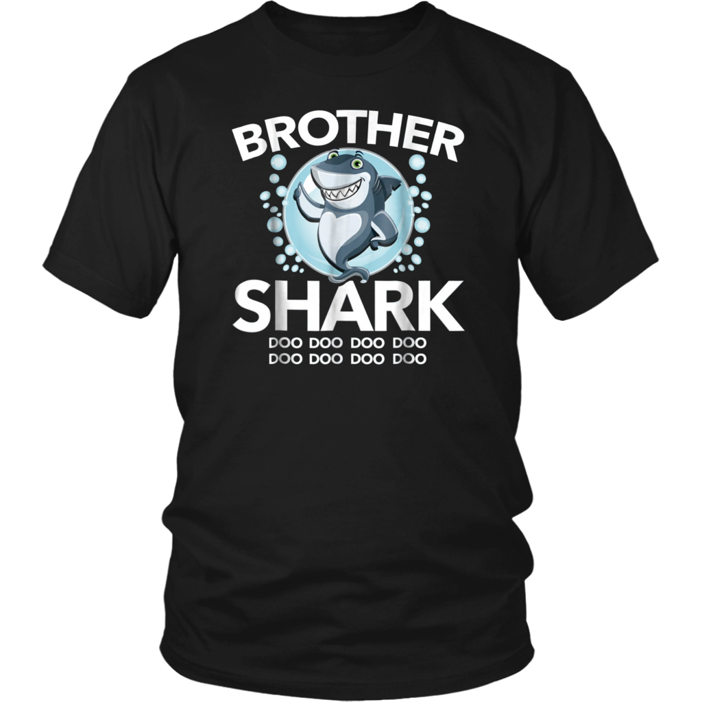 Brother Shark Doo Doo Doo Boys T-Shirt Family Gift Tee