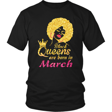 Black Queens Are Born In March 2020