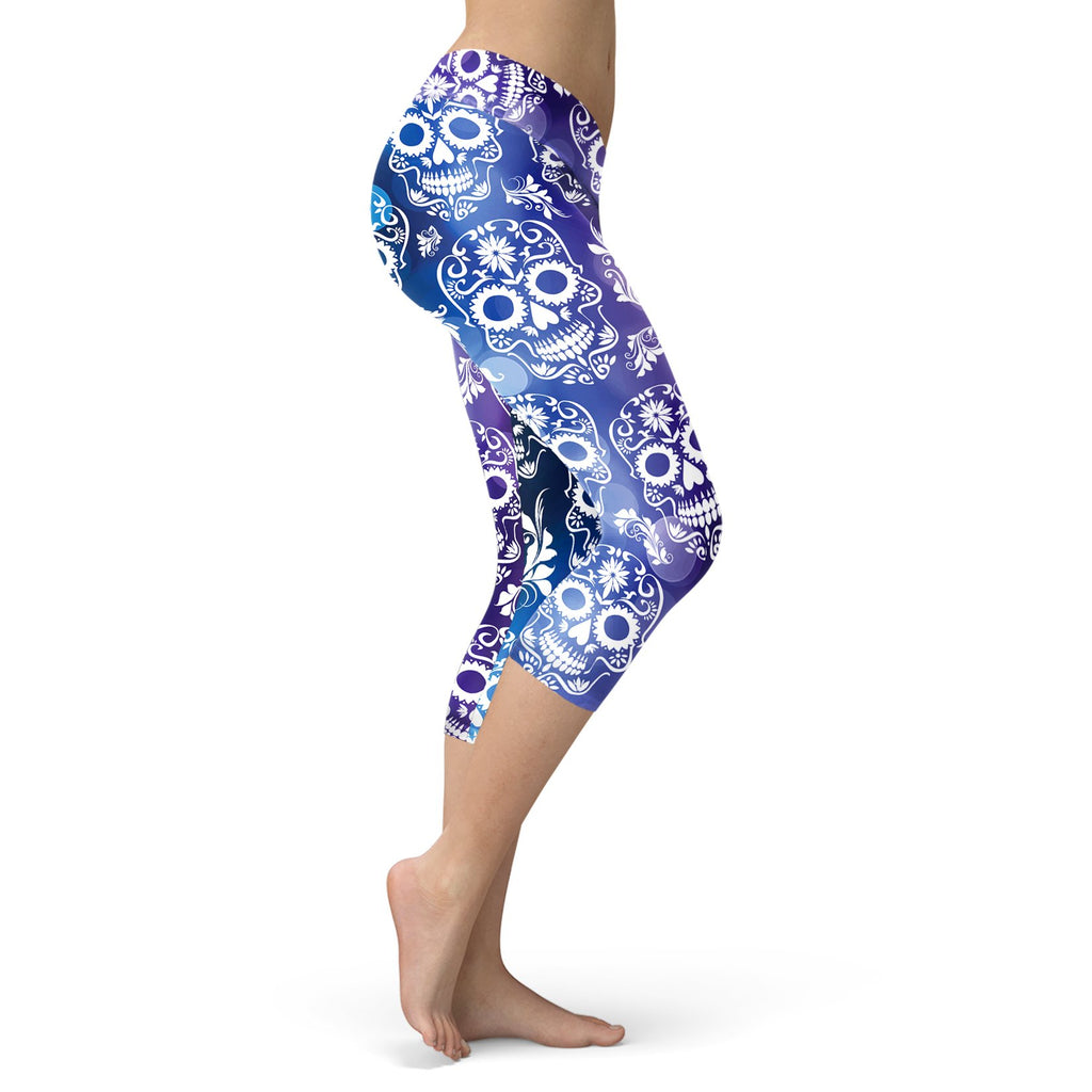 Blue and Purple Sugar Capris