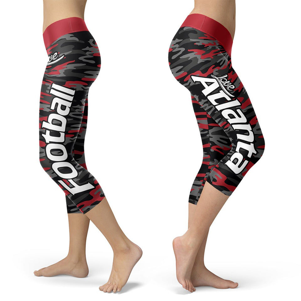 Atlanta Football Camo Capris - Bornmay