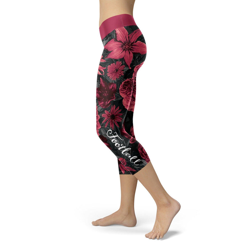 Arizona Flower Football Capris - Bornmay