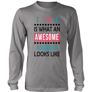 Aquarius Love Gift - Awesome Look T-Shirt